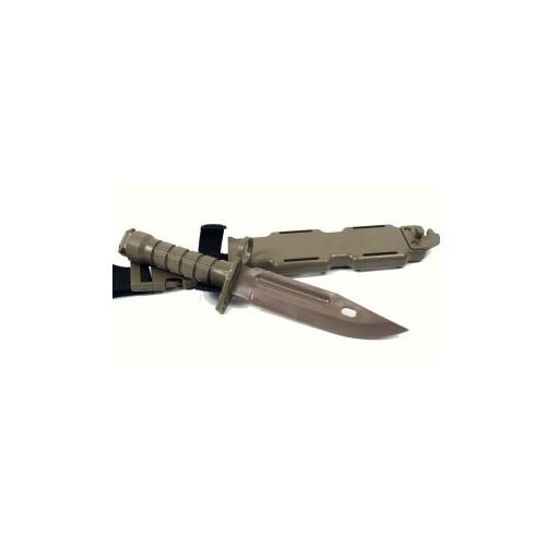 RUBBER BAYONET M16 TAN
