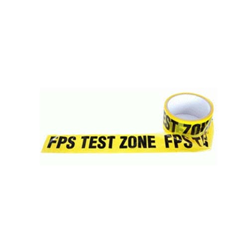CINTA BALIZAR FPS TEST ZONE
