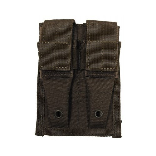 "Ammo Pouch, double, ""Molle"", small, OD green"