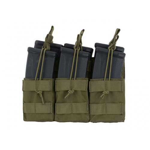 Open Top Triple 7.62x39 AK Mag Pouch - OLIVE [8FIELDS