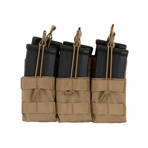Triple Stacker M4/M16/AR-15 Mag Pouch - OLIVE [8FIELDS]