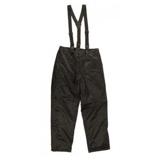 BLAC THERMAL PANTS WITH SUSPENDERS