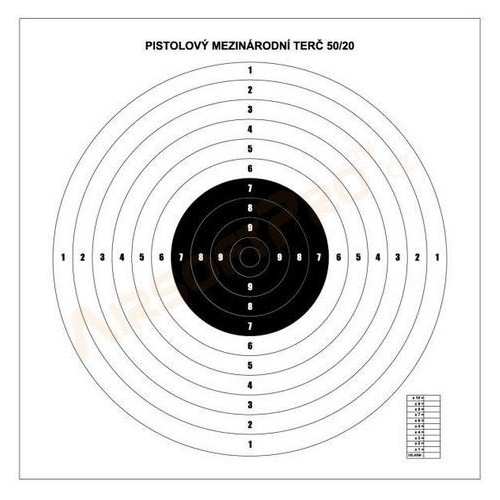 TARGETS 60X60