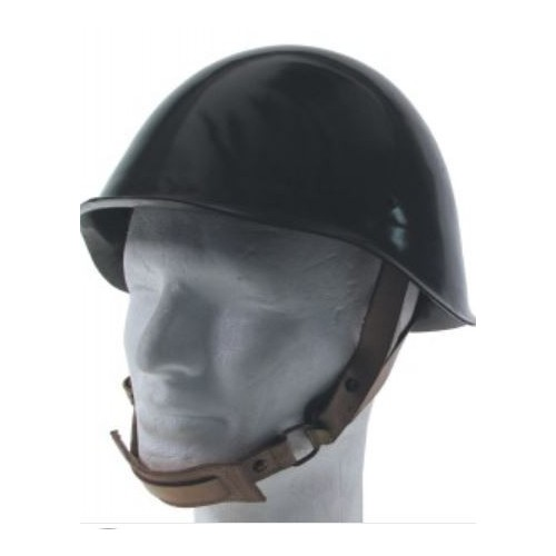 HU Steel Helmet, used, OD green