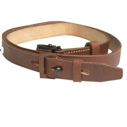 LEATHER RIFLE K98K SLING W/FROG (REPRO)