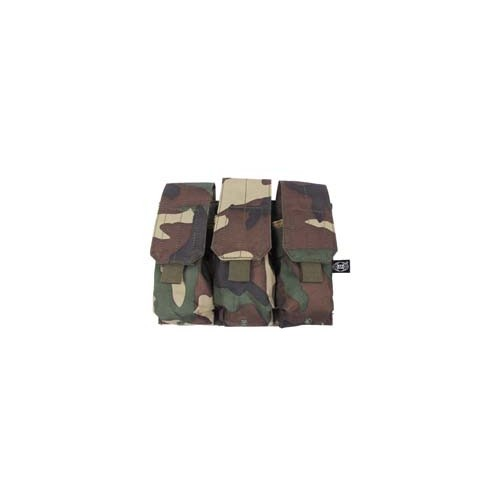 MAGAZINE POUCHES WOODLAND MOLLE SYSTEM 3 unid